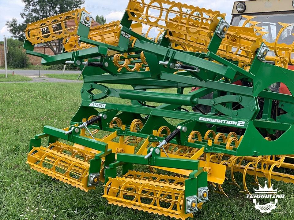 utilaje agricole terra king salonta Combinator cu tavalug GENERATION 2